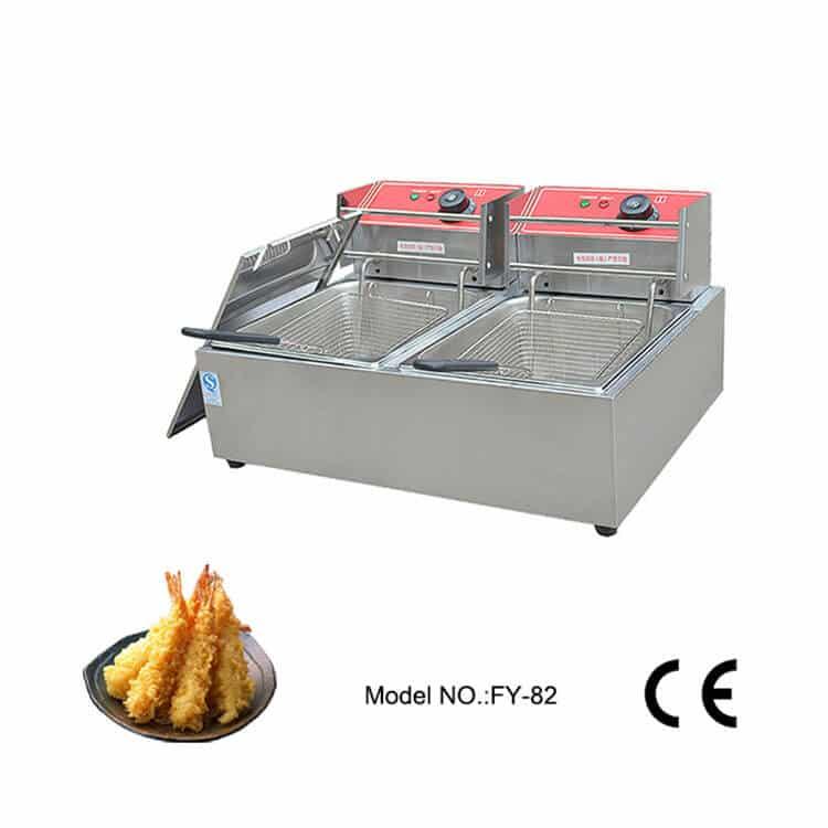 Double Tank Fryer Machine