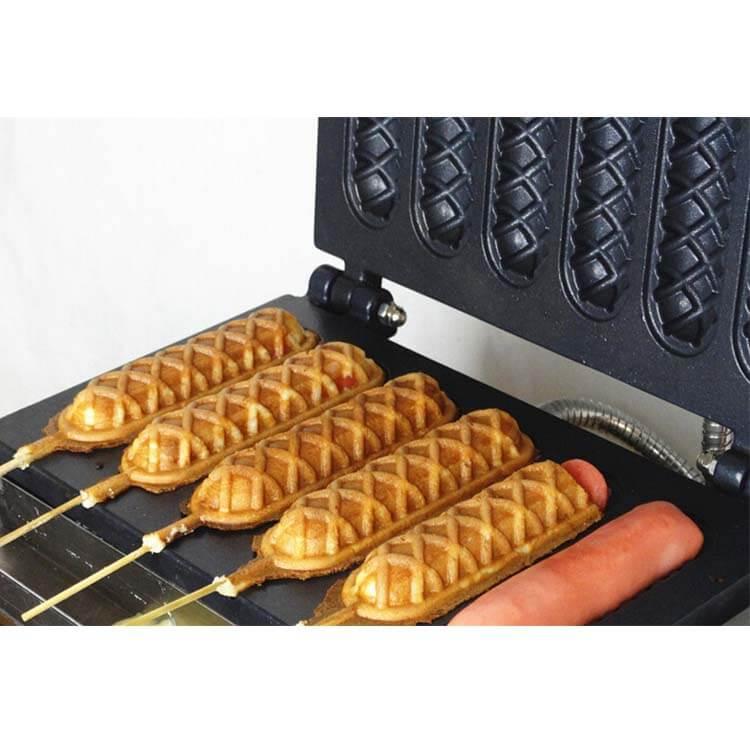 Electric Waffle Stick Machine