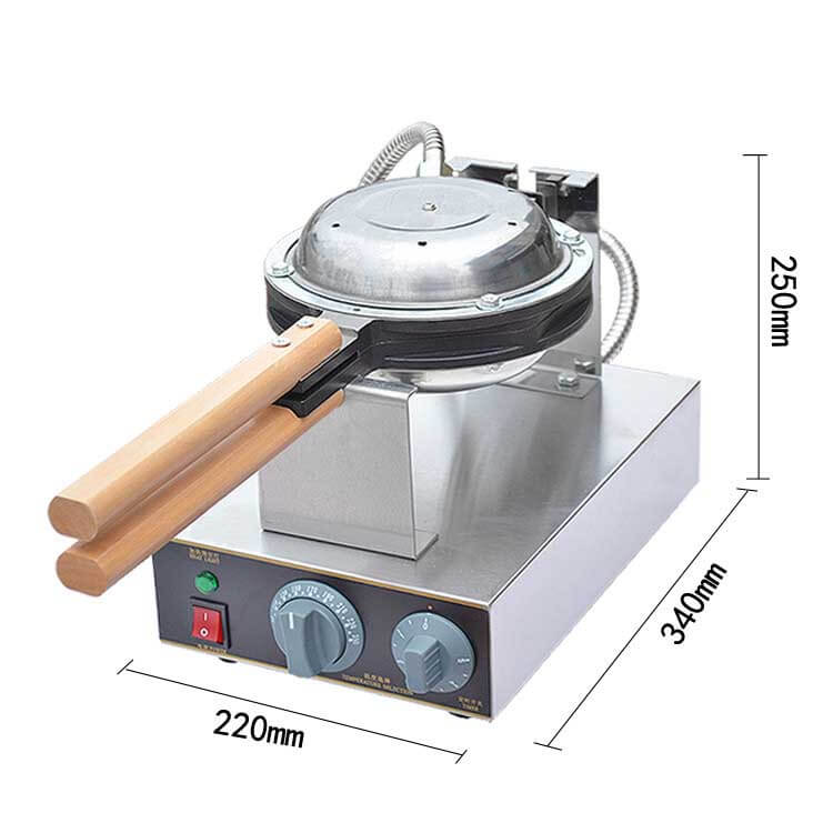 Egg Puff Waffle Machine