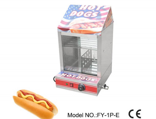 Food Warmer Showcase Electric Type for Hot Dogs