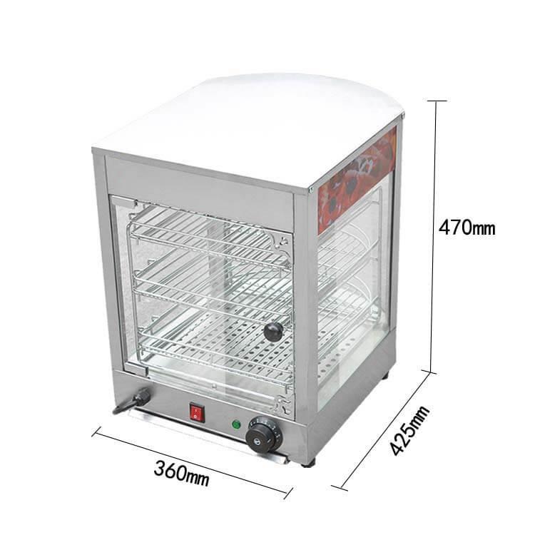 Food Warmer Display Case
