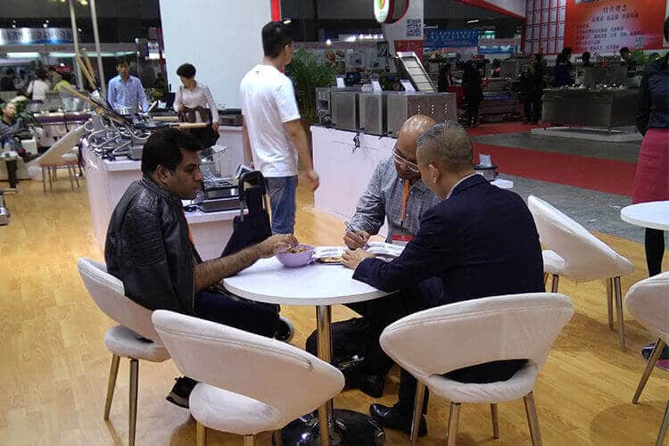 Clients at Hotelex Fair 2016