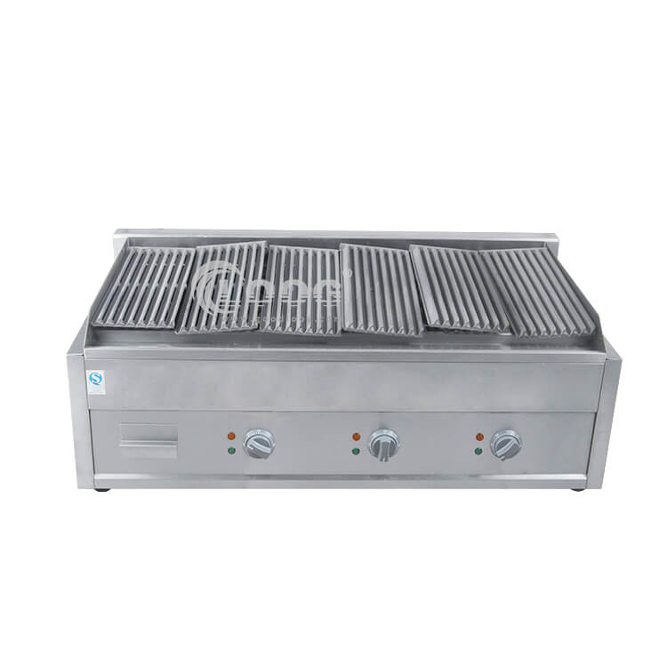 lava rock bbq grill