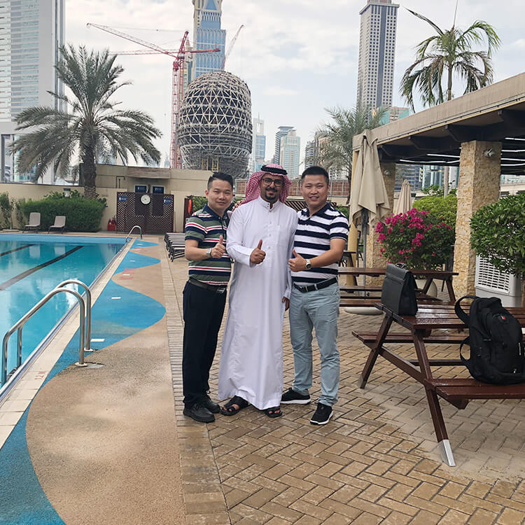 meeting in dubai