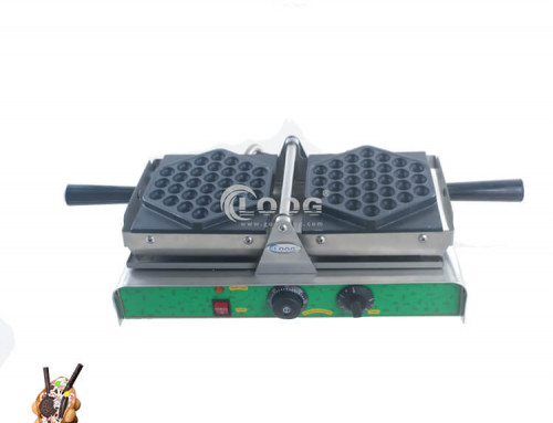 Egg waffle maker electric type commercial bubble waffle maker