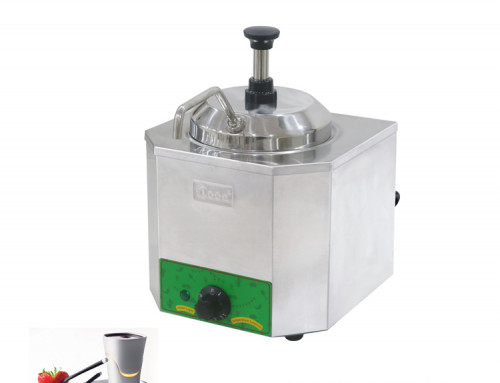 Cheese Dispenser Sauce Warmer With Pump For Commercial Use