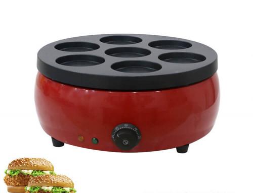 Commercial Telur Burger Maker 3000 W High Efficient For Sale