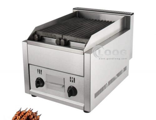 Lava Rock BBQ Grill Smokless Gas Lava Stone Grill Supplier