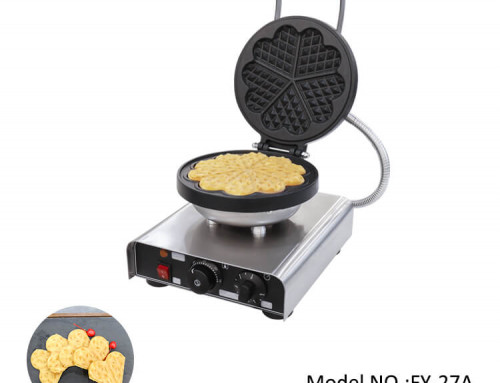 Waffle Machine Maker Heart Shaped With Single Head For Sale