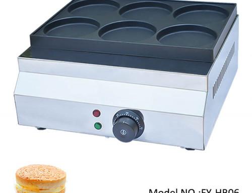 Telur Burger Machine Electric Factory Wholesale Price