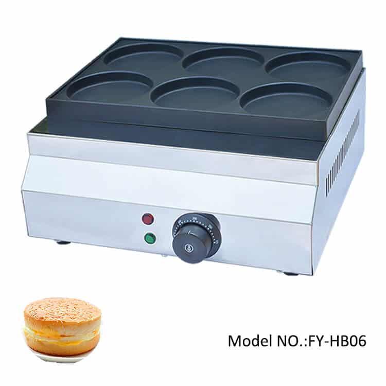 telur burger machine