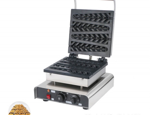 Lolly Waffle Machine for Commercial Use Take Away Service