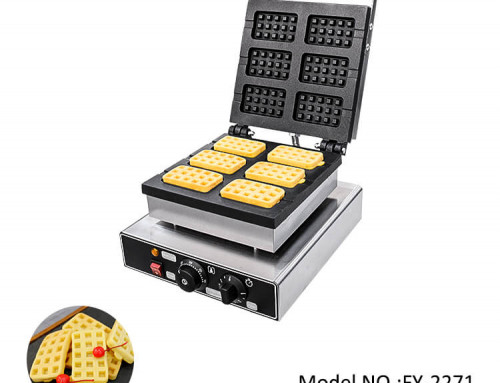 Belgian Waffle Iron Maker For Food Service Equipment