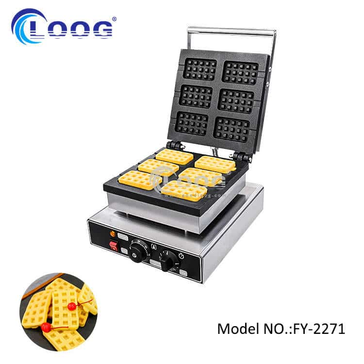 non-stick electric belgian waffle iron