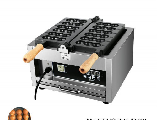Ball Waffle Maker From Snack Equipment Manufacturer