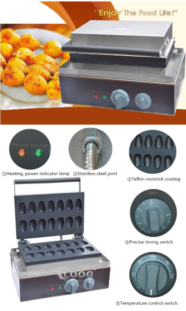 commercial electric waffle maker sticks