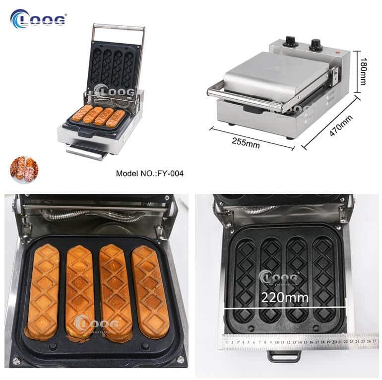 commercial waffle dog maker