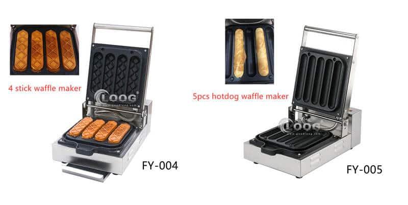 electric waffle dog maker