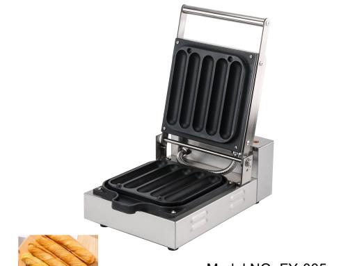 Hotdog Waffle Maker Commercial 5 Stick Waffle Machine Distributor
