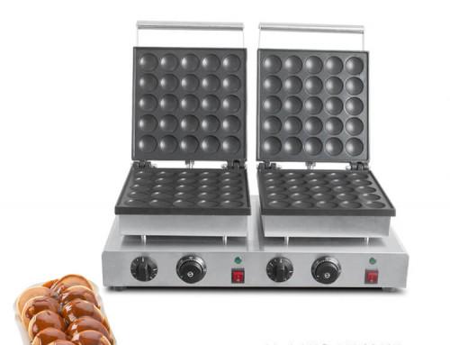 Poffertjes Machine  Double Mini Pancake Maker For Sale