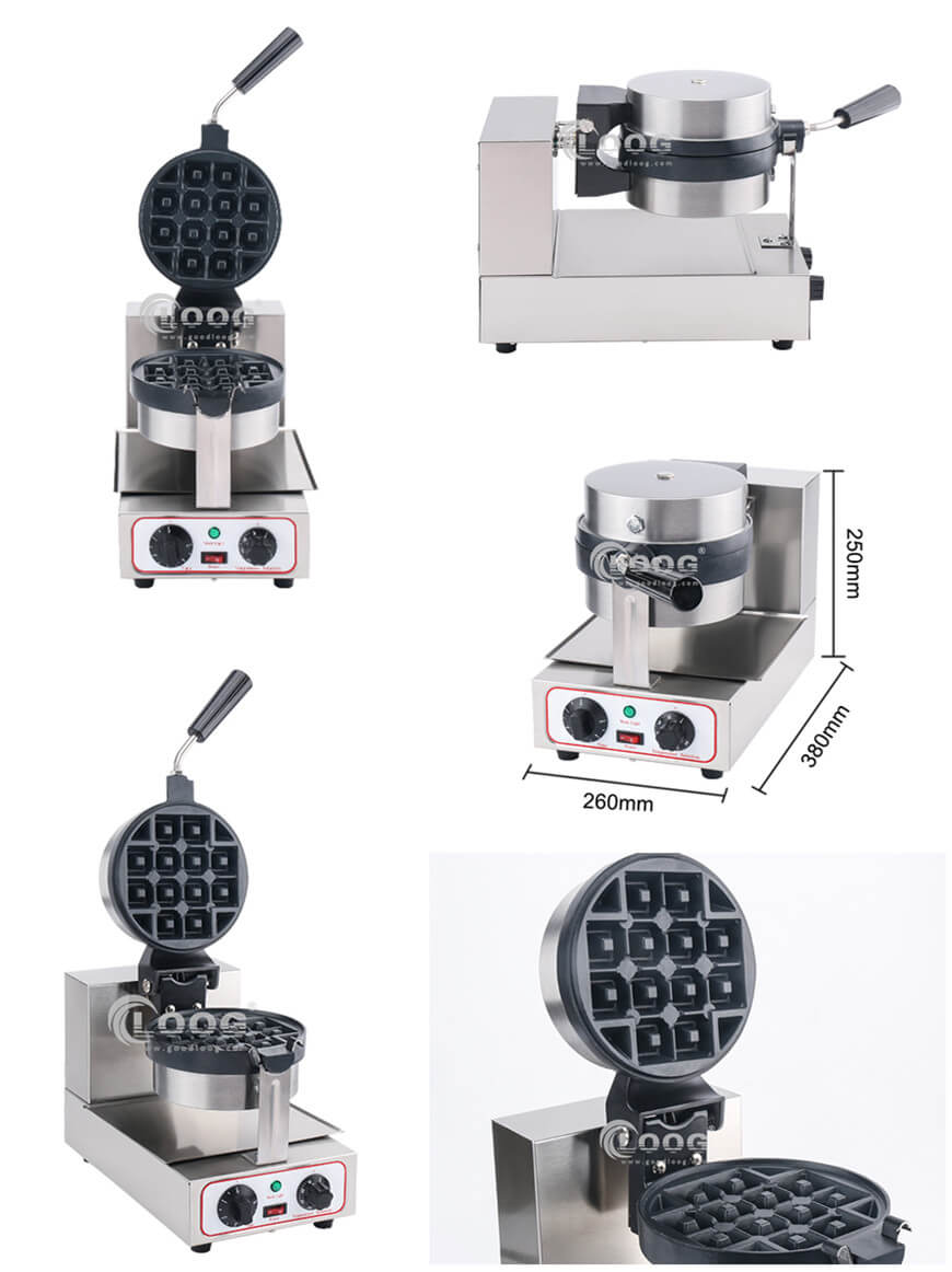 electric waffle maker for commercial