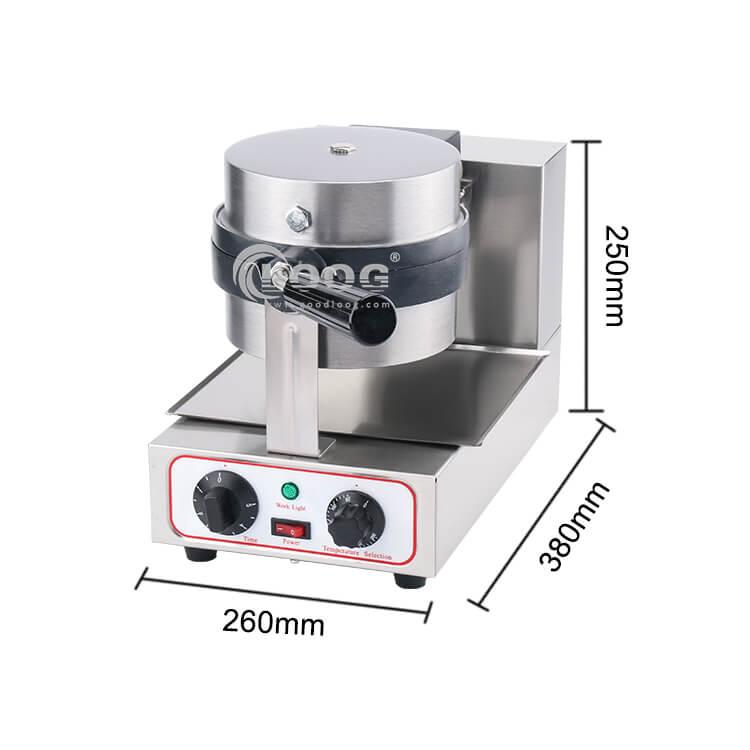 electric waffle maker machine