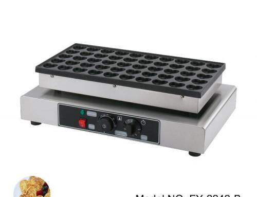 Mini Dutch Pancake Maker 50pcs Heart Shape Pancakes