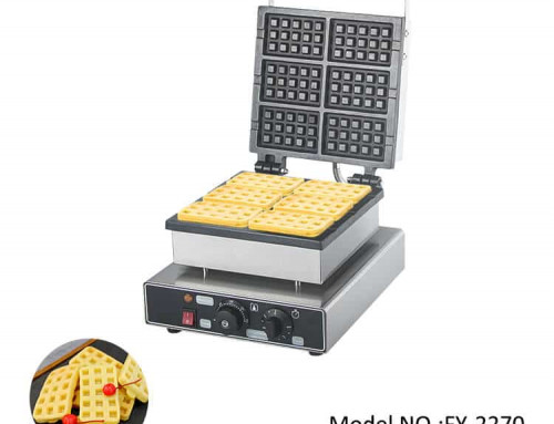 Waffle Maker Sale 6pcs Square Waffles for Kitchen Equipment