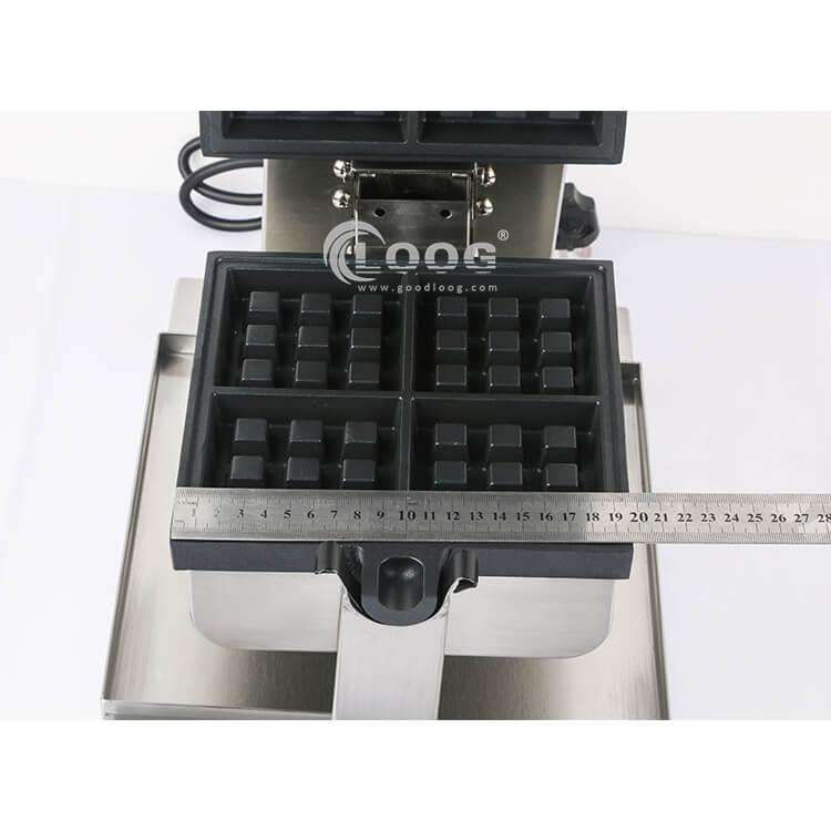 single waffle maker plate