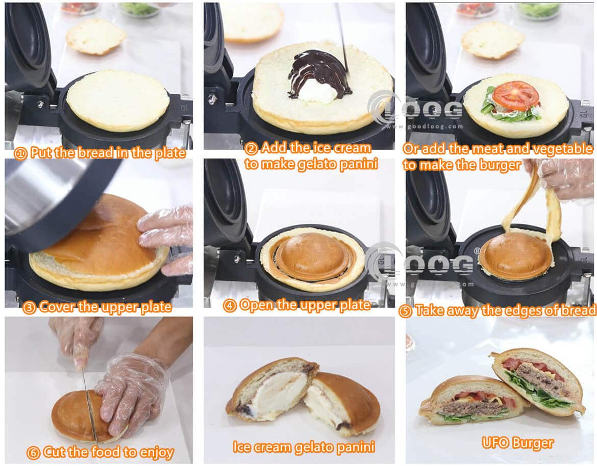 How to make the UFO burger
